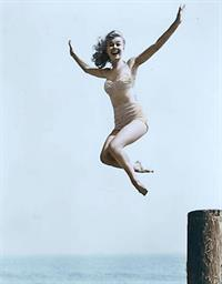 Vera Ellen in a bikini