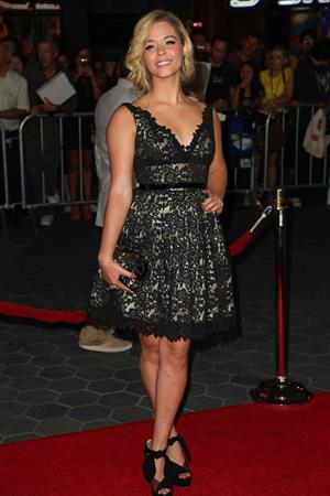 Sasha Pieterse attending the Insidious:Chapter 2 LA Premiere Sept 11, 2013