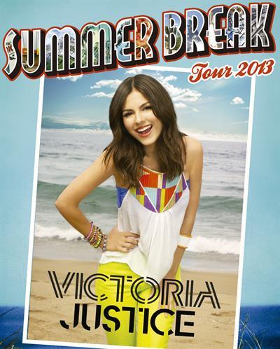 Victoria Justice - 2013 Summer Break Tour promos