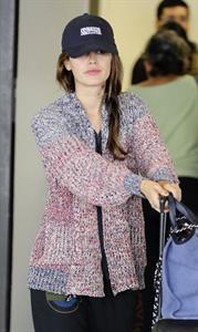 Rachel Bilson Arriving at LAX (July 16, 2013)
