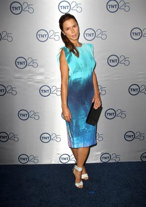 Rhona Mitra TNT's 25th Anniversary Party -- Beverly Hills, July 24, 2013