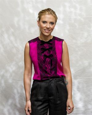 Scarlett Johansson  Don Jon  - Press Conference on September 10, 2013