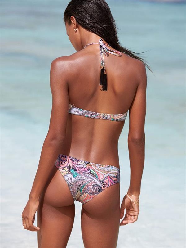 Jasmine Tookes in a bikini - ass
