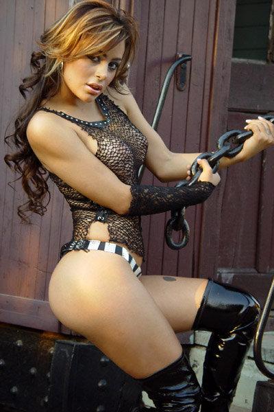 Larissa Riquelme in a bikini