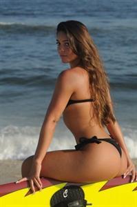 Monica Melissa in a bikini - ass