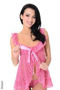 Sapphira A in lingerie