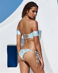 Lena Radonjic in a bikini - ass