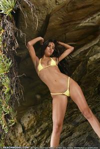 Desiree Lyn in a bikini