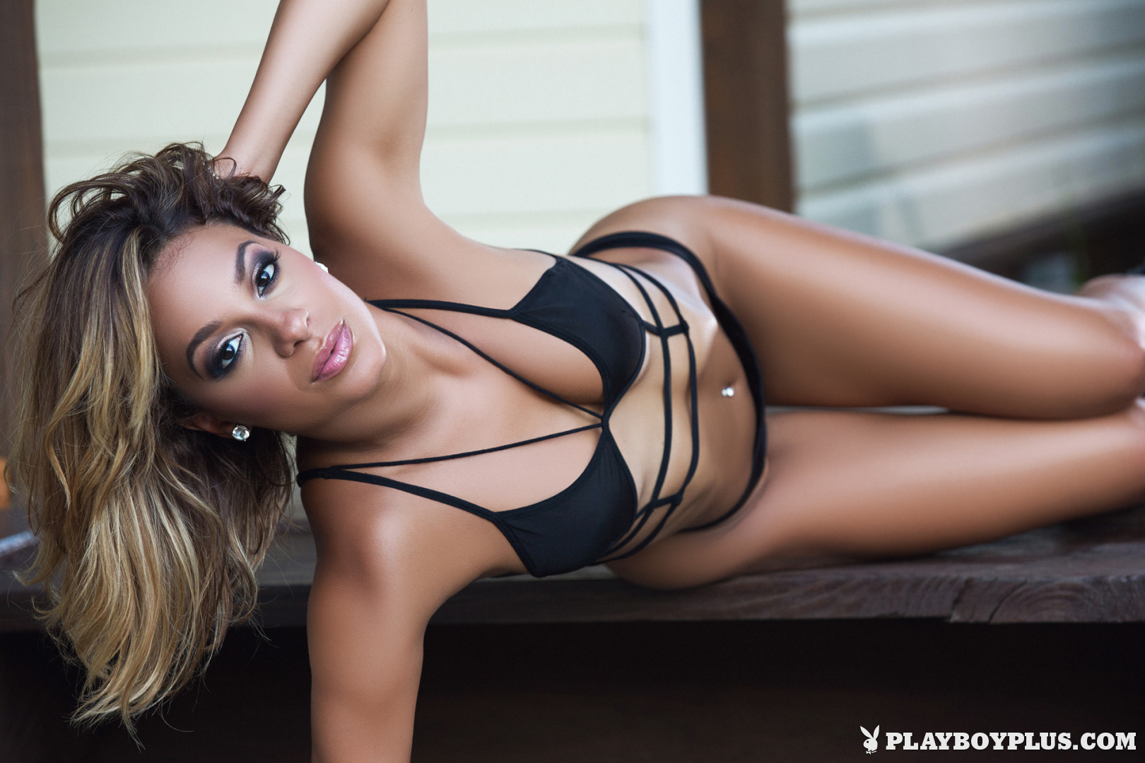 Playboy Cybergirl - Alisette Rodriguez Nude Photos & Videos at Playboy Plus! (in black bikini and high heels)