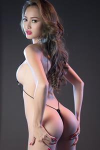 Tiffany Ngoc Ha in a bikini - ass