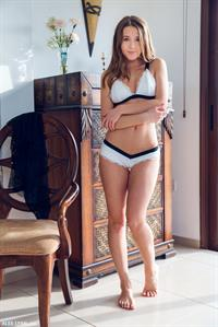 Kailena in lingerie