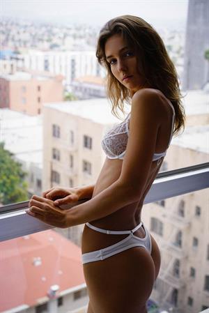 Rachel Cook in lingerie