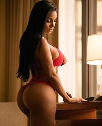 Dolly Castro in lingerie - ass