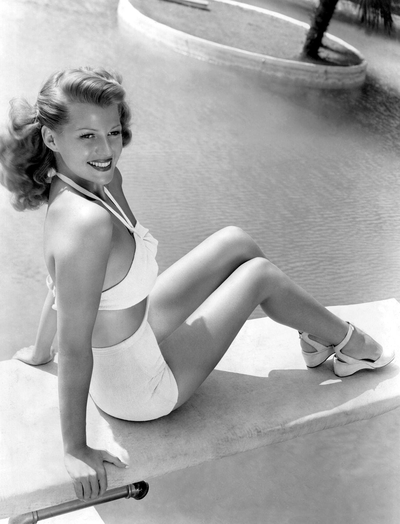 Rita Hayworth in Swimsuit