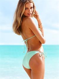 Edita Vilkeviciute in a bikini - ass