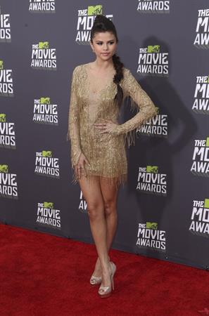 Selena Gomez 2013 MTV Movie Awards 04/14/2013
