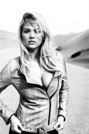 Kate Upton for Redemption Choppers' Spring-Summer 2013 campaign