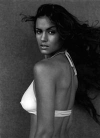 Lisa Marcos in lingerie