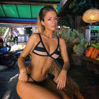 Pauline Tantot in a bikini