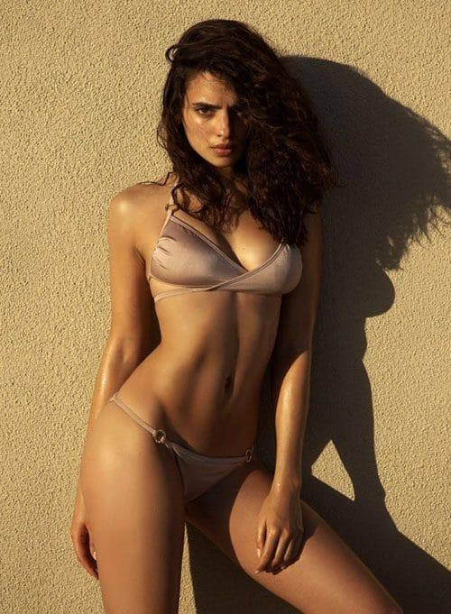 Nina Daniele in a bikini