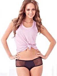 Jessica Dykstra in lingerie