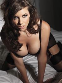 Imogen Thomas in lingerie