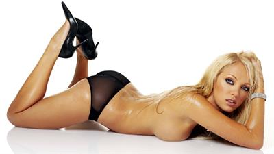 Aisleyne Wallace in lingerie - ass