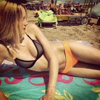 Maud Welzen in a bikini