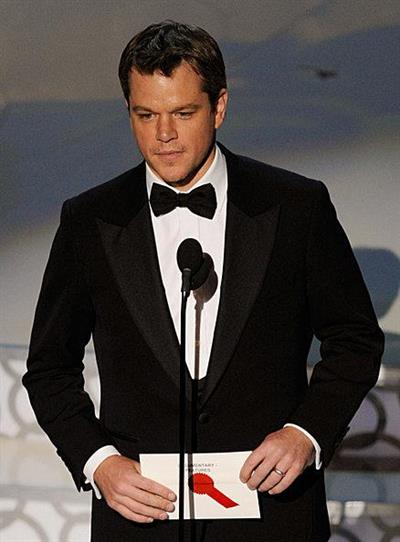 Matt Damon on Stage