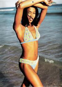 Naomi Campbell in a bikini