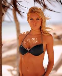 Rachel Lynn in a bikini