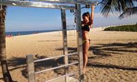 Layla Anna-Lee in a bikini