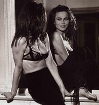 Lena Olin in lingerie