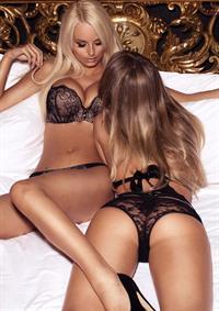 Rhian Sugden in lingerie - ass