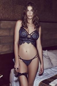 Samantha Gradoville in lingerie