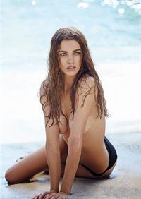 Samantha Gradoville in a bikini