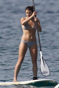 Danica Patrick in a bikini