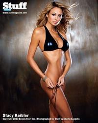 Stacy Keibler in a bikini