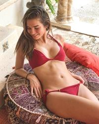 Rachell Vallori cute in a bikini