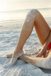 Dita Vetone Busty Beach Babe