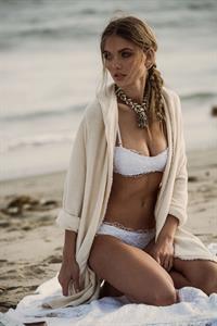 Natalie Morris in a bikini