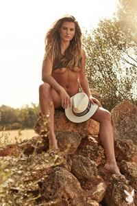Marie Rauscher poses nude in an outdoors photoshoot for Playboy Plus