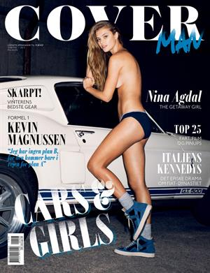 Nina Agdal Cover Man (Winter 2013)