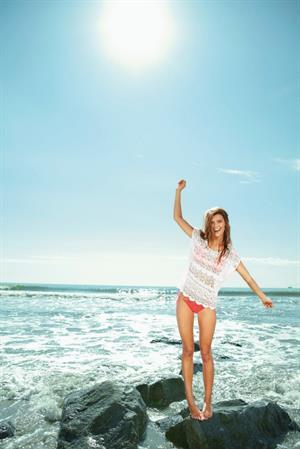 Nina Agdal – Aerie Swimwear Spring 2013