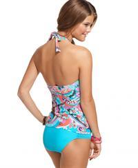 Nina Agdal in a bikini - ass