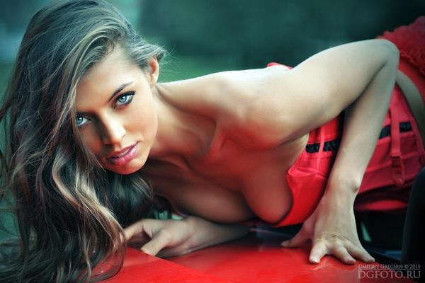 Valentina Kolesnikova in lingerie