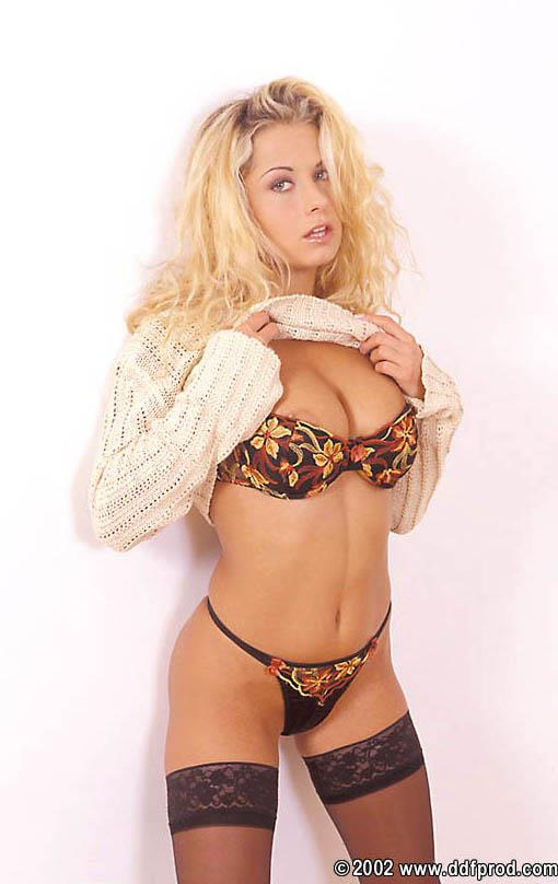 Vicky Sweet in lingerie