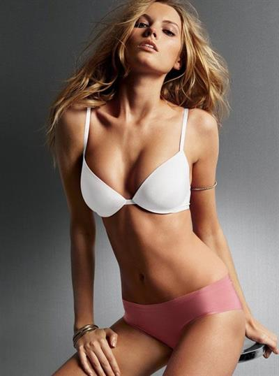 Maryna Linchuk in lingerie