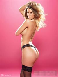 Danica Thrall in lingerie - ass
