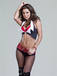 Elizabeth Gutiérrez in a bikini